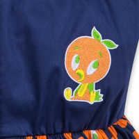 Image of Orange Bird Dress for Women # 6