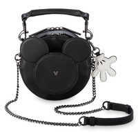Image of Mickey Mouse Leather Crossbody Bag # 1