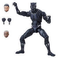 Image of Black Panther Action Figure - Black Panther Legends Series # 1