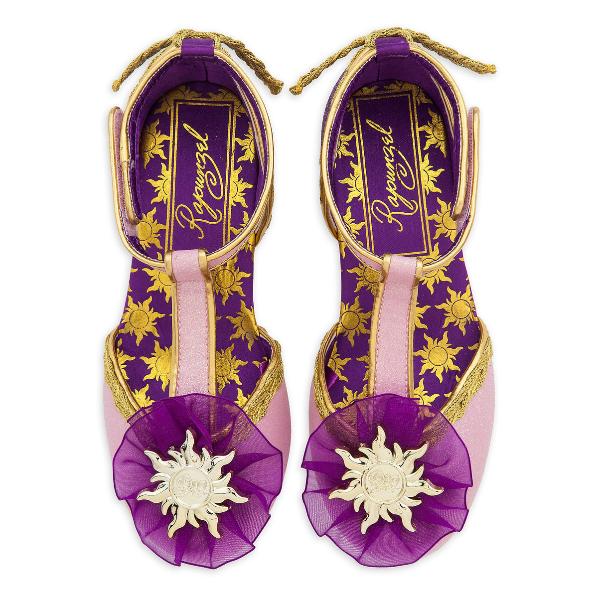 24efca491e54 Product Image of Rapunzel Costume Shoes for Kids   3