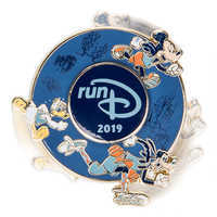 Image of Mickey Mouse and Friends runDisney 2019 Spinner Pin - Limited Release # 2