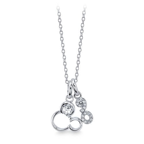Mickey Mouse 90th Anniversary Necklace
