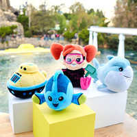 Image of Disney Parks Wishables Mystery Plush - Finding Nemo Submarine Voyage Series # 2