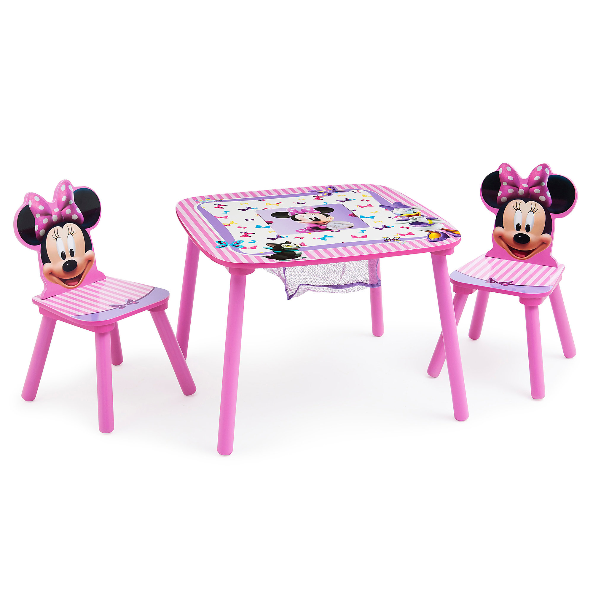 Product Image Of Minnie Mouse Table And Chair Set With Storage # 1