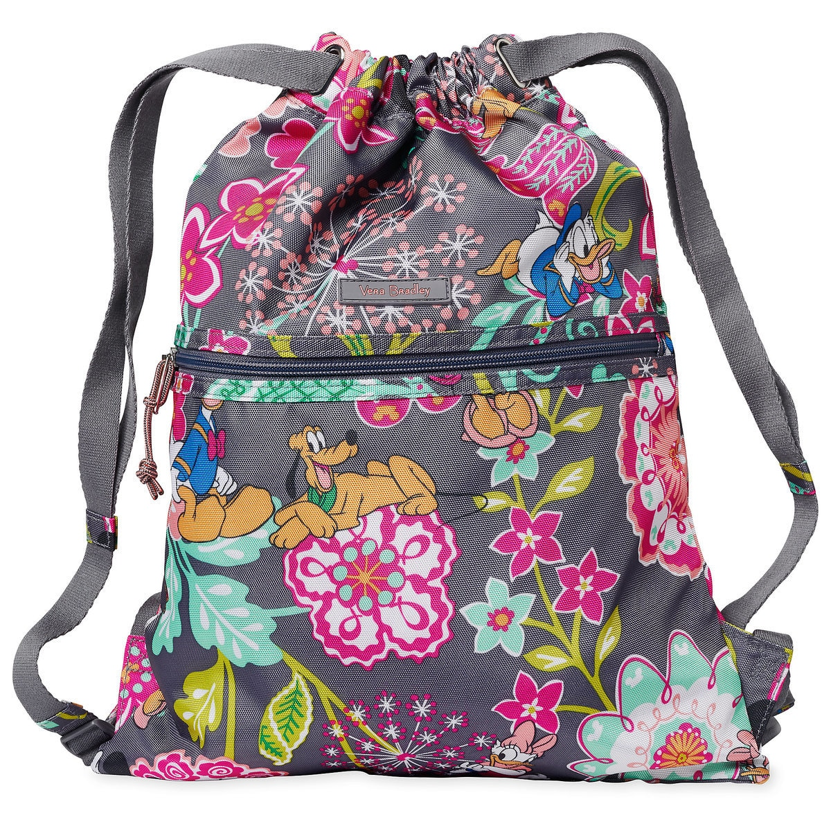 149f11a4ec1f Product Image of Mickey Mouse and Friends Cinchtop Backpack by Vera Bradley    1