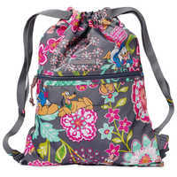 Image of Mickey Mouse and Friends Cinchtop Backpack by Vera Bradley # 1