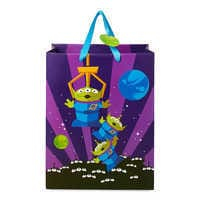 Image of Toy Story Aliens Deluxe Gift Bag - Medium # 1