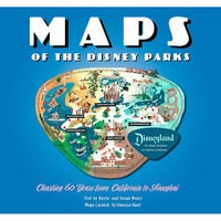 Maps of the Disney Parks Book