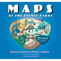 Image of Maps of the Disney Parks Book # 1