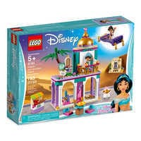 Image of Aladdin and Jasmine's Palace Adventures Playset by LEGO # 2