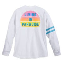 Image of Stitch ''Living in Paradise'' Spirit Jersey for Adults # 2