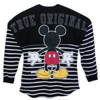 Image of Mickey Mouse Striped Spirit Jersey for Adults # 4