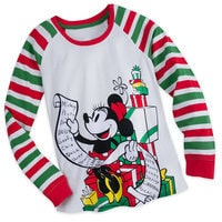Minnie Mouse Holiday PJ Set for Women