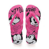 Image of Minnie Mouse Pink Flip Flops for Kids by Havaianas # 1