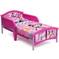 Image of Minnie Mouse Toddler Bed # 1