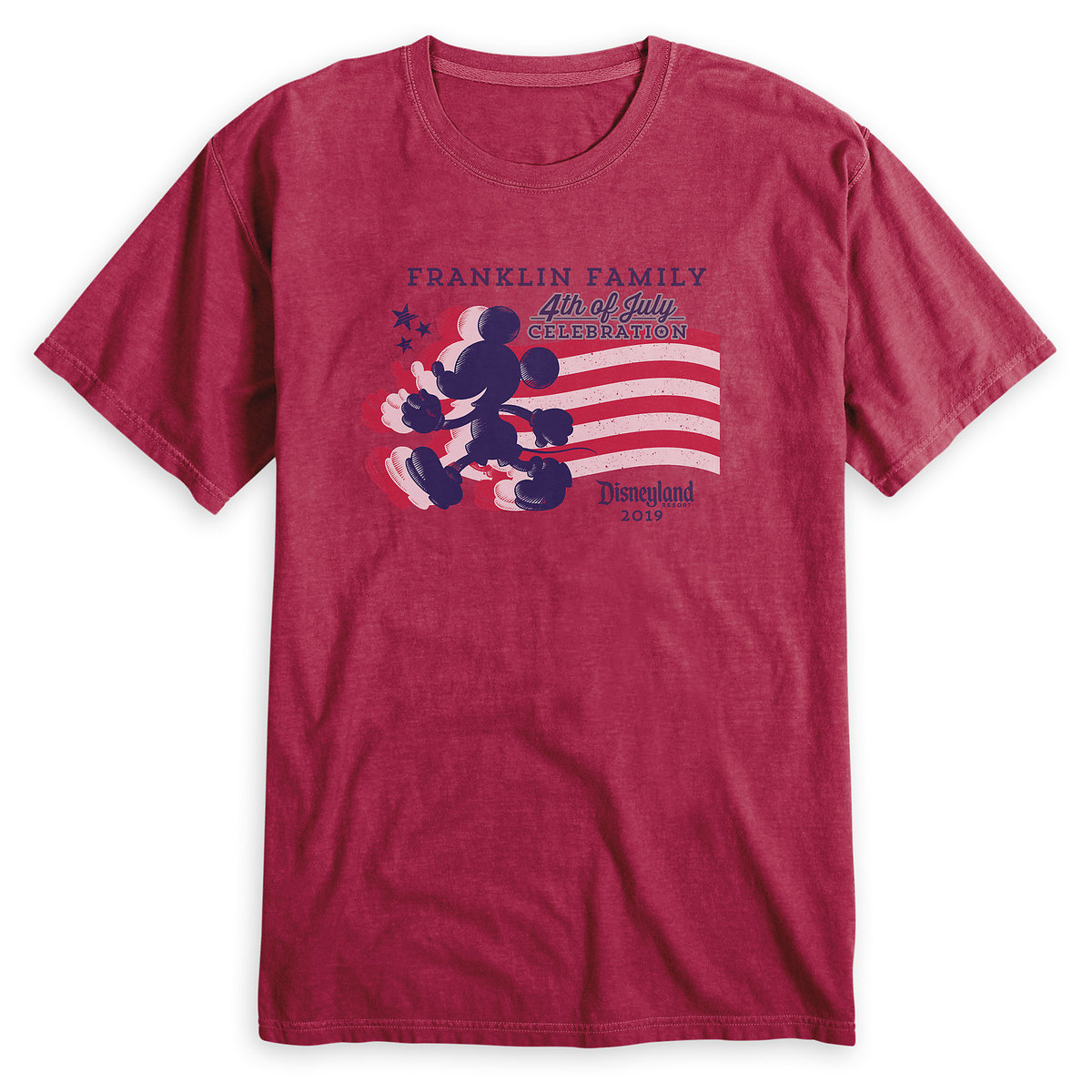 381dc77de Product Image of Adults' Mickey Mouse Silhouette 4th of July T-Shirt -  Disneyland