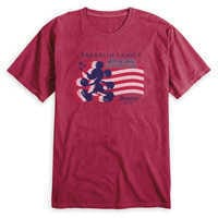Image of Adults' Mickey Mouse Silhouette 4th of July T-Shirt - Disneyland - Customized # 1