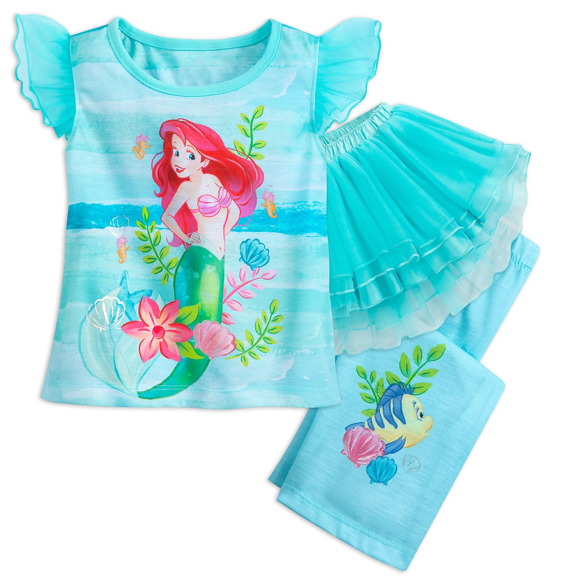 Ariel Deluxe Tutu Sleep Set for Girls