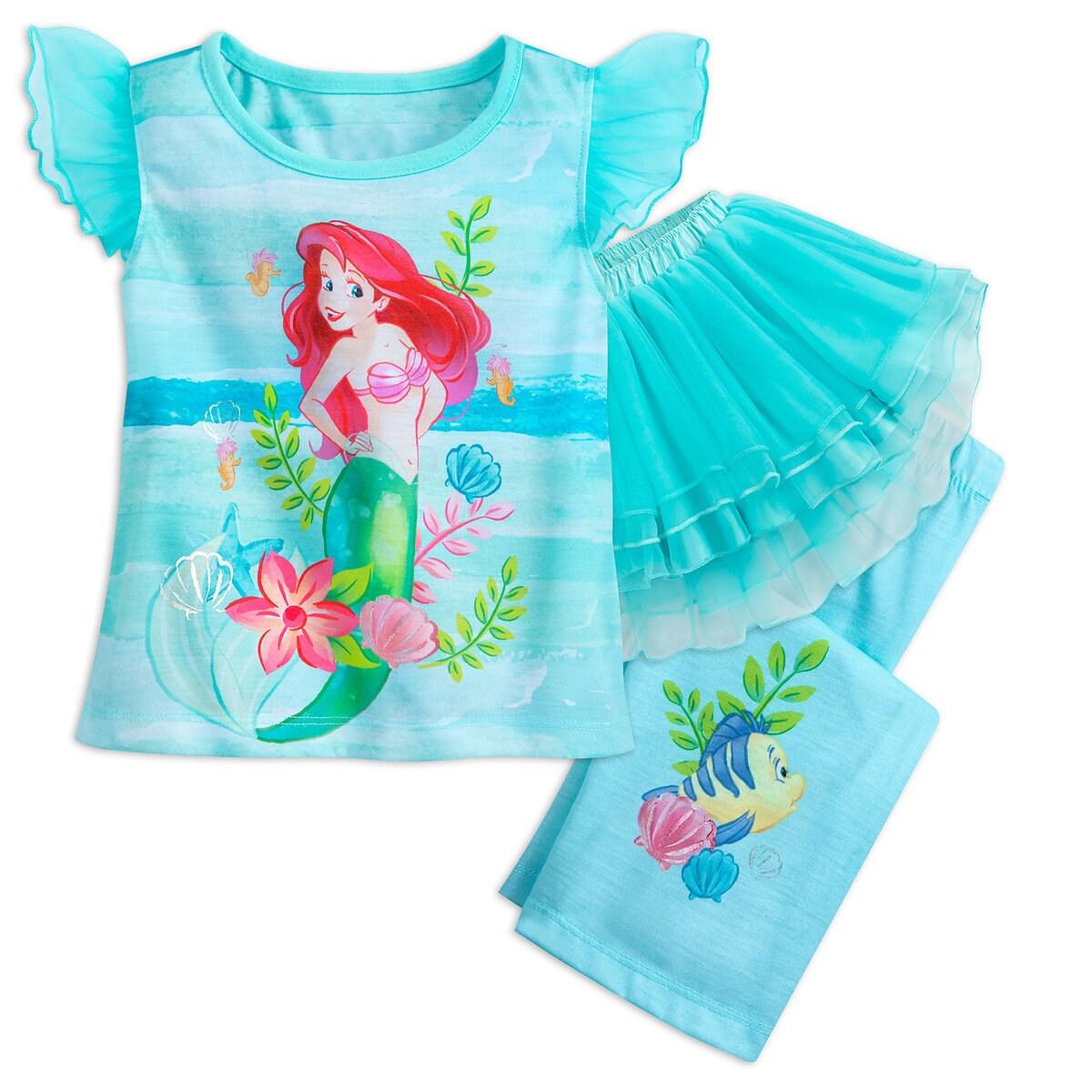 Ariel Deluxe Tutu Sleep Set for Girls | shopDisney