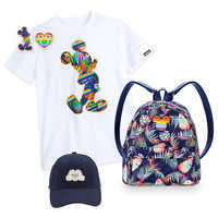 Image of Rainbow Disney Collection Mickey Mouse Collection with T-Shirt # 1