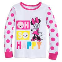Image of Minnie Mouse ''Oh So Happy'' PJ PALS for Girls # 2