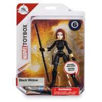 Image of Black Widow Action Figure - Marvel Toybox # 4