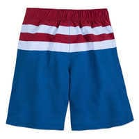 Image of Captain America Swim Trunks for Kids # 3