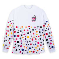 Image of Minnie Mouse Polka Dot Spirit Jersey for Adults - Walt Disney World # 1
