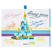 Image of Mickey Mouse and Friends Autograph Book - Walt Disney World # 3
