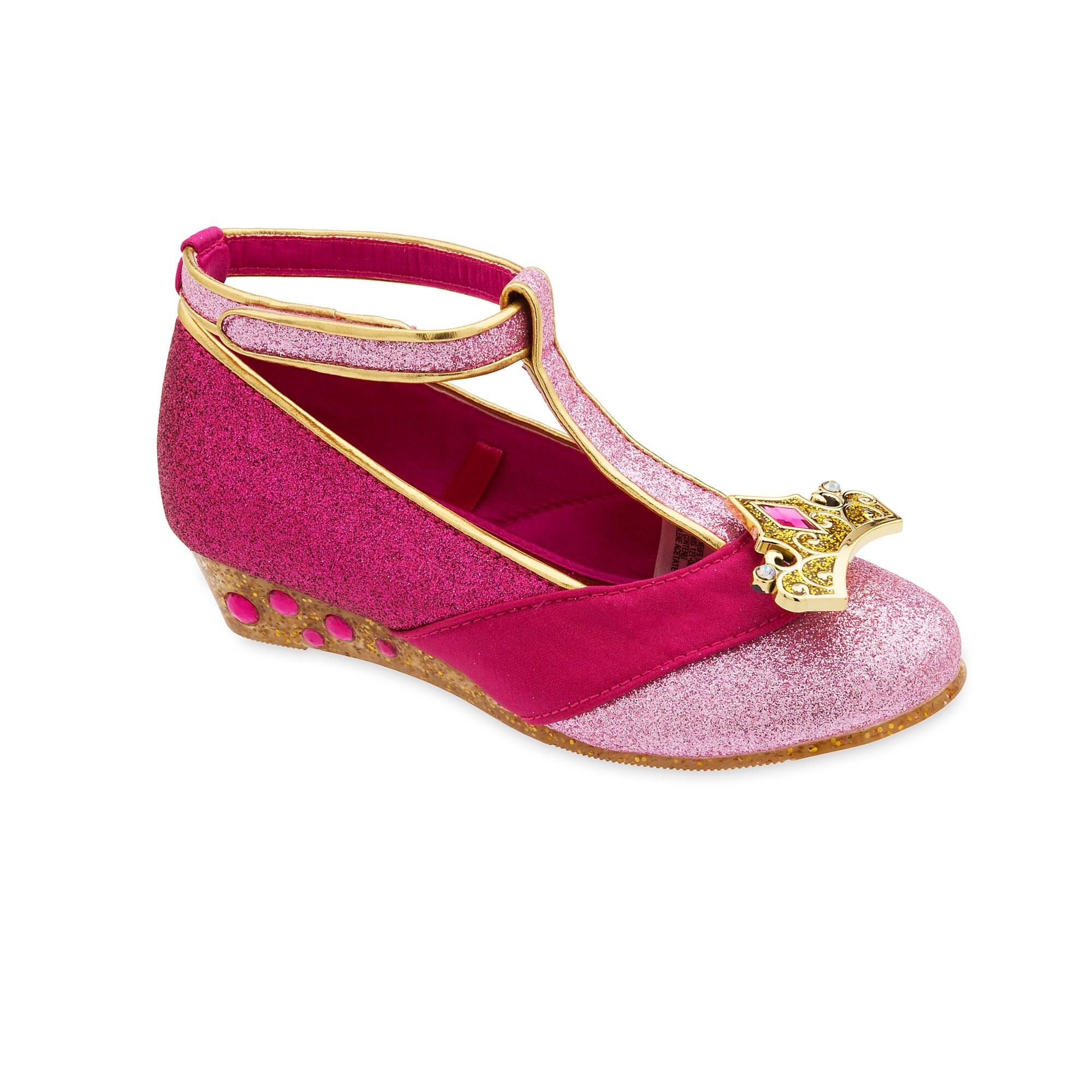 Aurora Costume Shoes for Kids - Sleeping Beauty