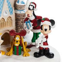 Image of Mickey Mouse and Friends at Cinderella Castle Holiday Figure - Walt Disney World # 5