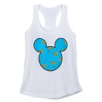 Image of Mickey Mouse Palm Tree Tank Top by Neff for Women # 1