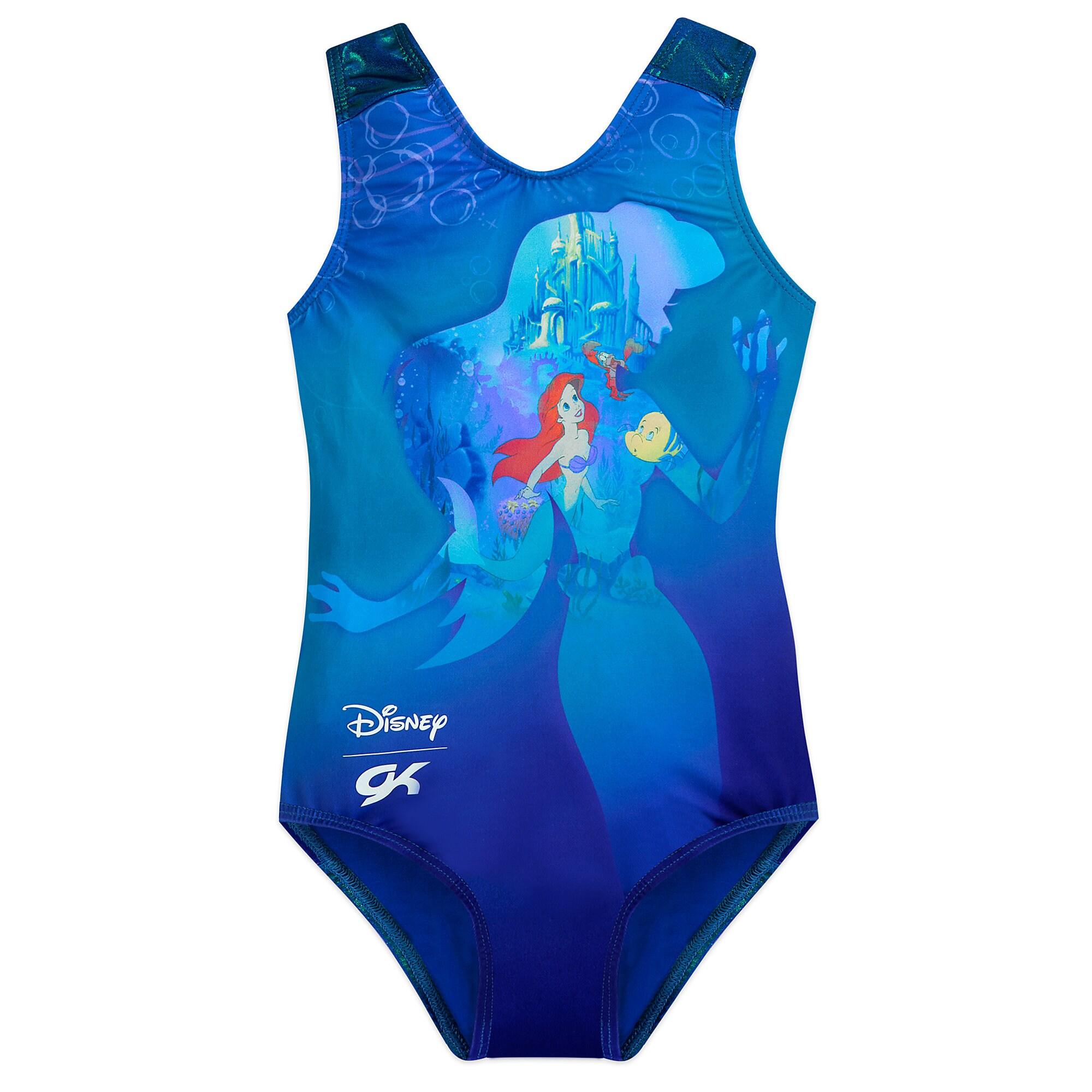 62110ad9cd5f The Little Mermaid Leotard - Girls