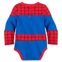Image of Spider-Man Costume Bodysuit for Baby # 5