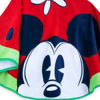 Image of Mickey and Minnie Mouse Watermelon Beach Towel - Summer Fun # 5