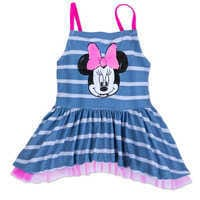 Image of Minnie Mouse Sequin Swimsuit for Girls # 3
