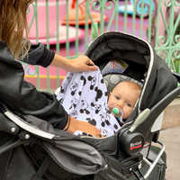 Image of Mickey Mouse Baby Blanket by Milk Snob # 3