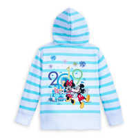 Image of Mickey Mouse and Friends Zip-Up Hoodie for Kids - Disneyland 2019 # 2