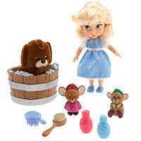 Image of Disney Animators' Collection Cinderella Mini Doll Play Set # 1