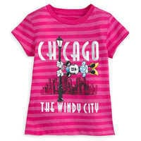 Image of Minnie Mouse Chicago T-Shirt for Girls # 1