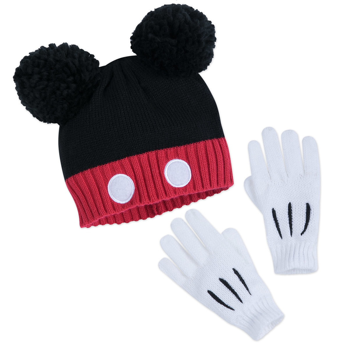 90941bda Product Image of Mickey Mouse Hat and Glove Set for Kids # 1