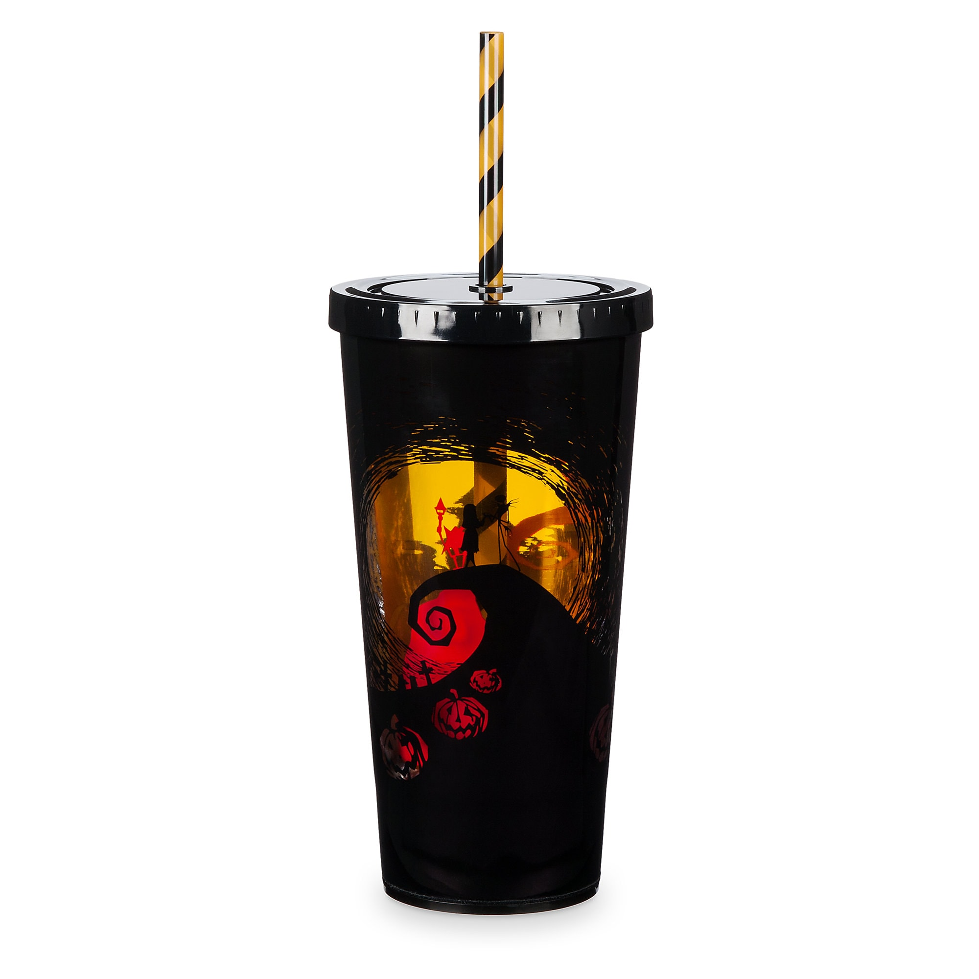 The Nightmare Before Christmas Light-Up Tumbler with Straw | shopDisney
