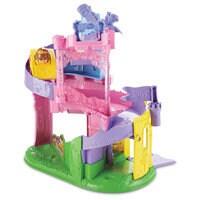 Image of Disney Princess Light & Twist Wheelies Tower - Fisher Price - Belle # 4