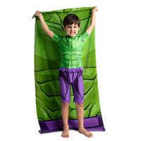 Image of Hulk Beach Towel - Personalizable # 2