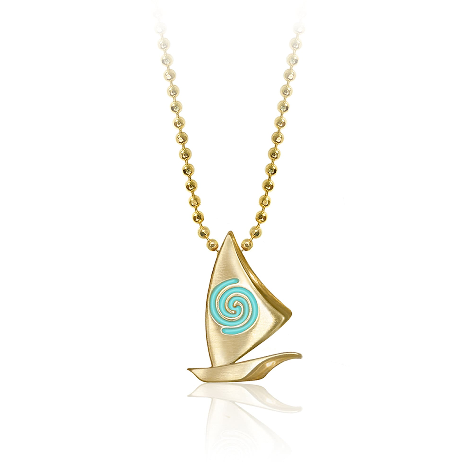 Moana 14 Karat Gold Necklace by Alex Woo