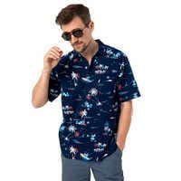 Image of Mickey Mouse Button Shirt for Men by Tommy Bahama - Navy # 2
