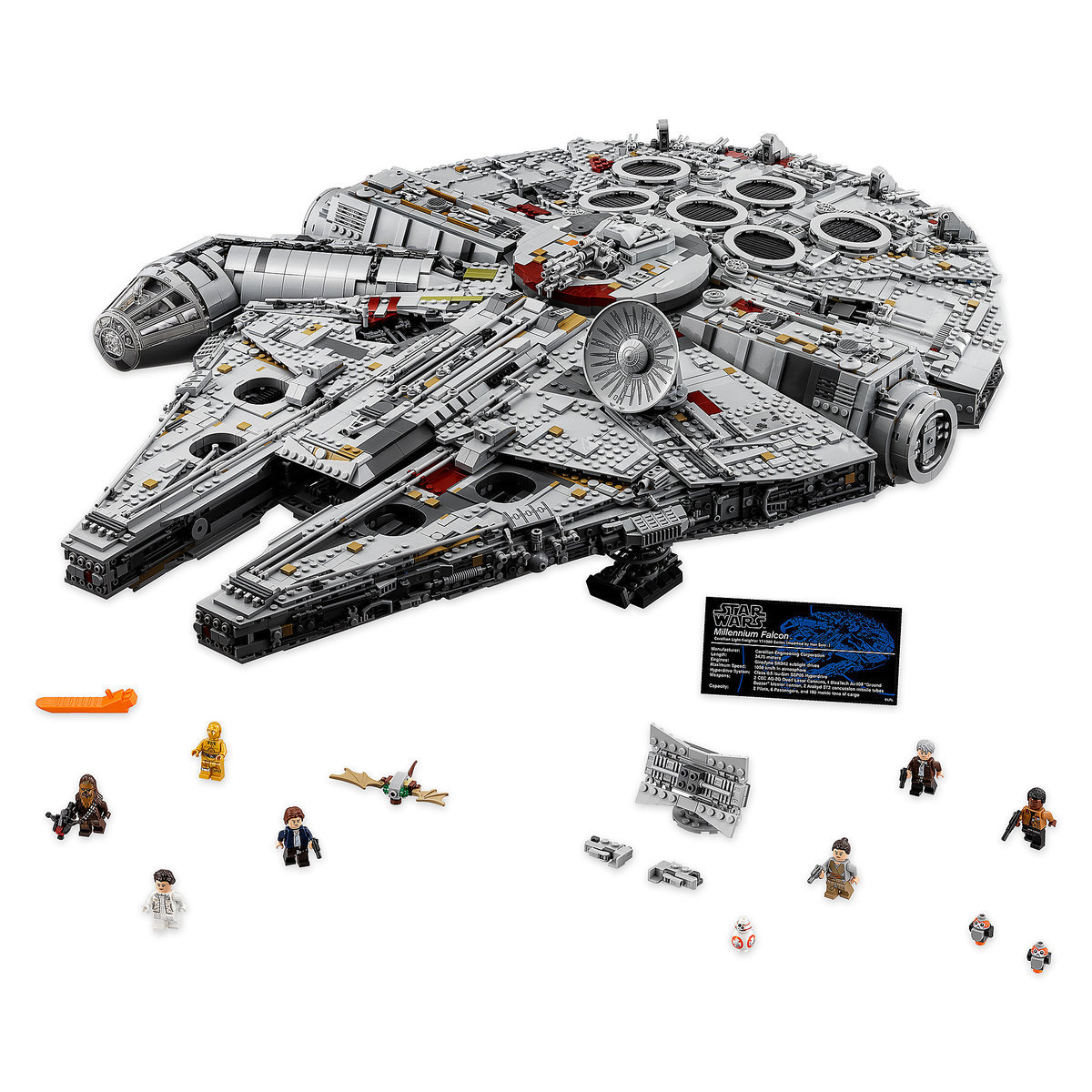 Millennium Falcon Ultimate Collector Playset by LEGO - Star Wars ...