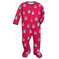 Image of R2-D2 Holiday Stretchie Sleeper for Baby by Munki Munki # 1