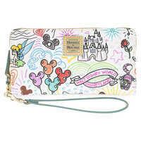 Image of Disney Sketch Wallet by Dooney & Bourke # 1