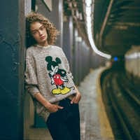 Image of Mickey Mouse Haldon Sweater for Adults by rag & bone # 2